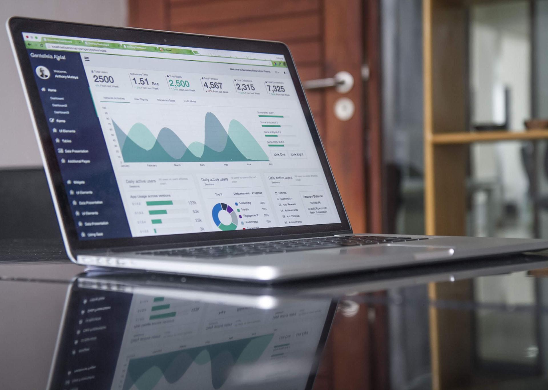 analytics laptop